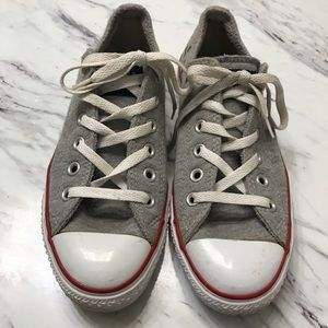 Converse All Star Chuck Taylor Gray Sneakers Sz 9